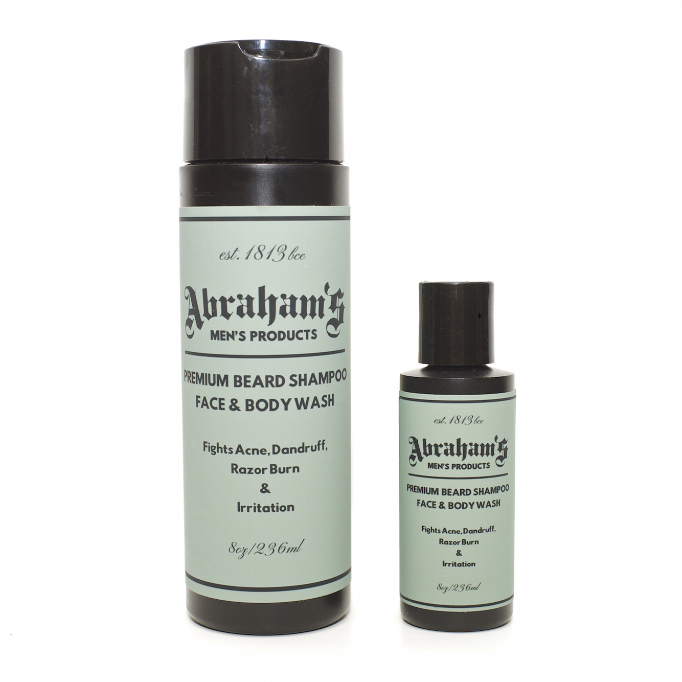 Premium Beard Shampoo, Face and Body Wash